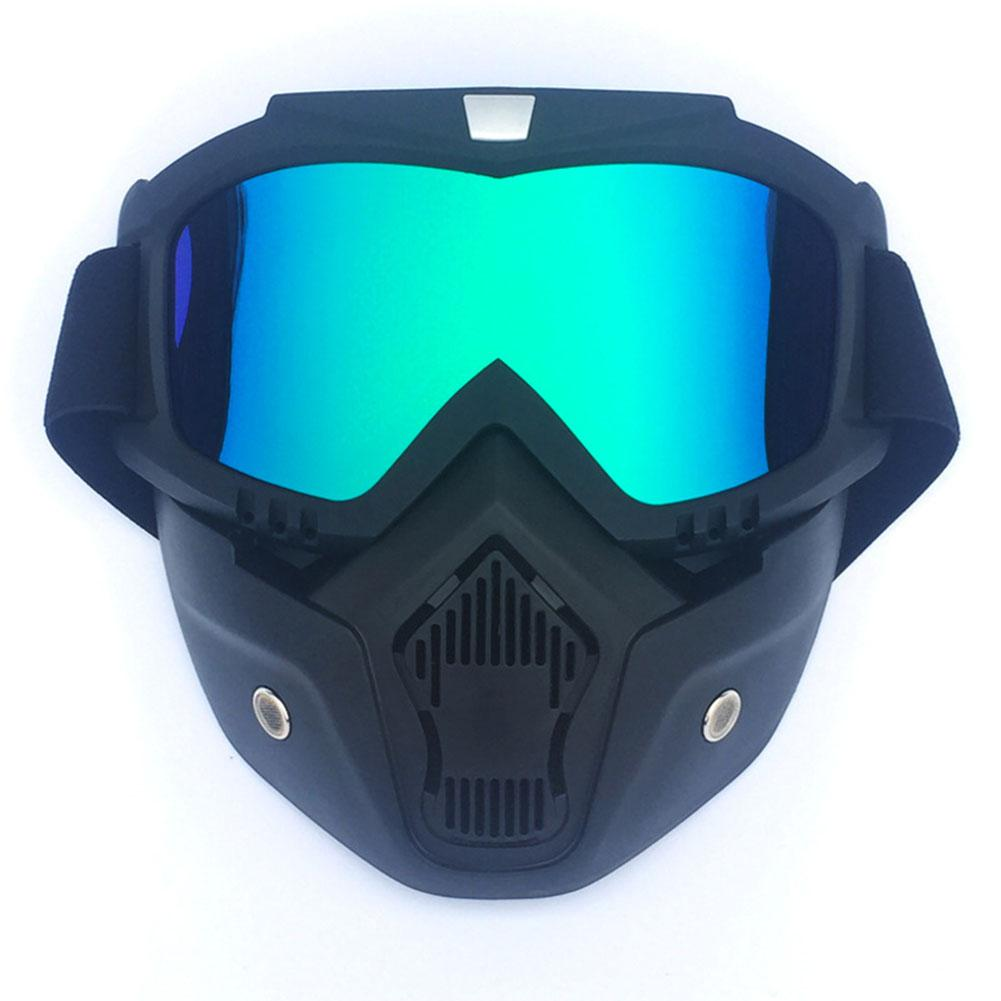 HiMISS Cycling Goggles Men/Women Retro Outdoor Cycling Mask Goggles Snow Sports Skiing Full Face Mask Glasses