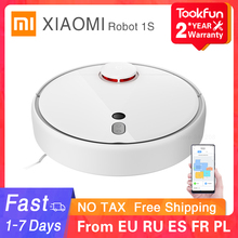 New XIAOMI MIJIA Robot Vacuum Cleaner 1S 2 for Home WIFI APP Smart Planned Automatic Sweeper Dust Sterilize Cyclone suction