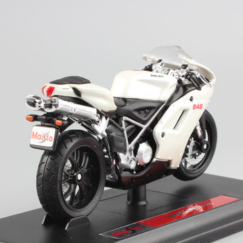 Maisto 1/18 1:18 Scale Ducati 848 Motorcycles Motorbikes Diecast Display Models Birthday Gift Toy For Boys Kids maisto 1 18 1 18 scale ducati 848 motorcycles motorbikes diecast display models birthday gift toy for boys kids