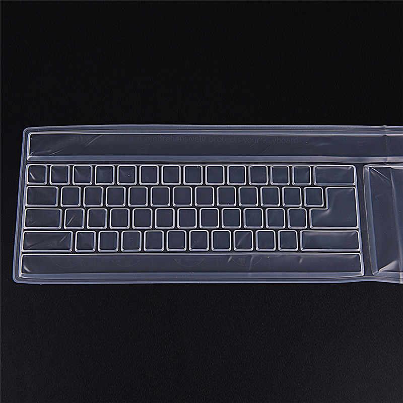 """Universal Silikon Laptop Komputer Keyboard Cover Kulit Pelindung 14 """"Inch"""