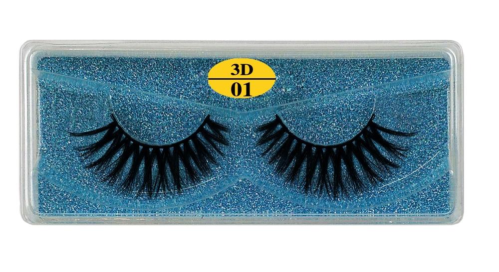 Hebec877a478f45ceb21c742b239893dej - MB Eyelashes Wholesale 40/50/100/200pcs 6D Mink Lashes Natural False Eyelashes Long Set faux cils Bulk Makeup wholesale lashes