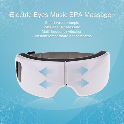 Olhos Cuidados Ferramenta 6S USB Recarreg vel Sem Fio Bluetooth Dobr vel Eye Massager Olho
