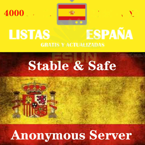 Iptv España  Best  3900+stable M3u Enigma2 For Pc Phone Box Android And More Test Available