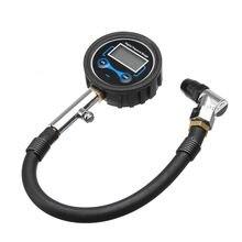 Цифровой ЖК-дисплей шин воздушный насос манометр тестер инструмент автомобильные аксессуары