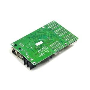 Image 2 - HD E63 Ethernet Huidu P10 כפול צבע LED כרטיס תצוגת Led לתכנות סימן לוח בקר