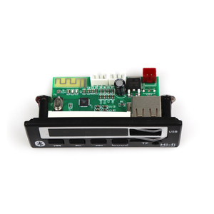 Image 5 - บลูทูธ5.0 MP3ถอดรหัสMP3ผู้เล่นMP3บลูทูธWMA WAV Decoderโมดูลอุปกรณ์เสริมวิทยุFM 12Vหน้าจอสี