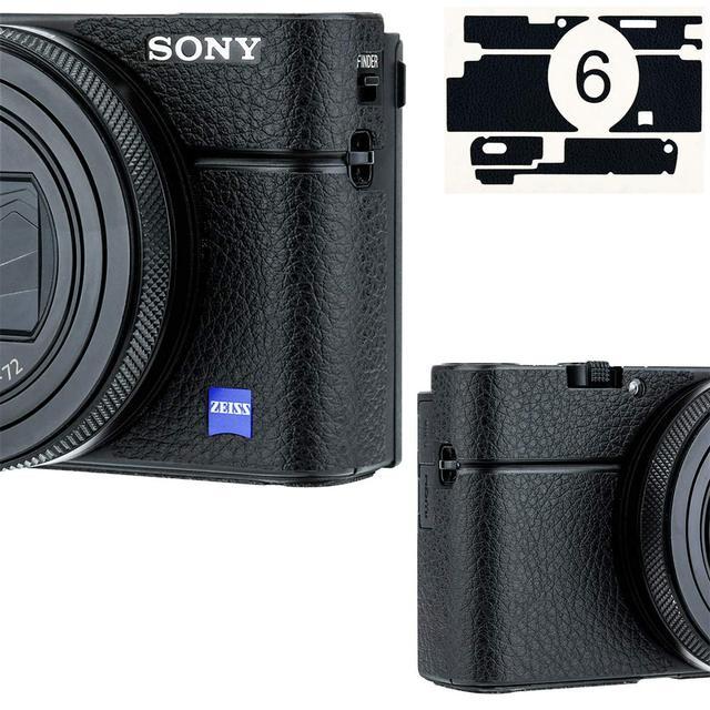 Anti kras Camera Body Cover Protector Lederen Textuur Sticker Beschermende Huid Film Kit Voor Sony RX100 Mark Vii Vi va V Iv Iii