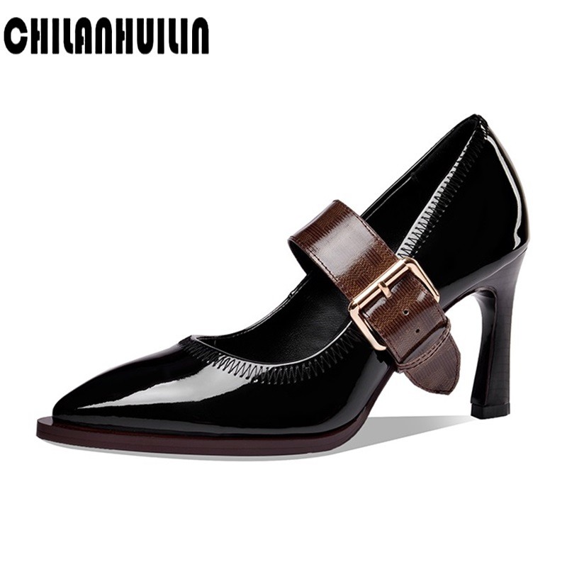 brand high heels fashion women pumps high heel shoes pointed toe girls party wedding shoes spring summer shoes office lady shoes image