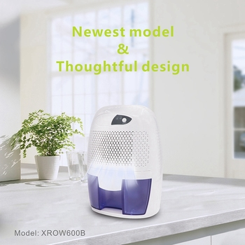 Mini Dehumidifier Air Purifier Moisture Damp Home Bedroom Bathroom Kitchen UK Plug