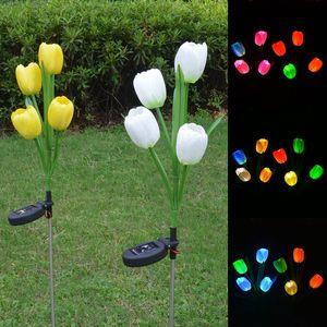 2PCS LED Solar Power Garden Li