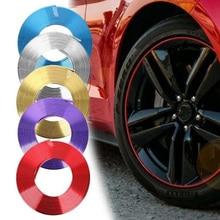 8M Car Stickers Rim Protector Wheel Edge Rim Protectors Wheel Protector Tire Protection Care Covers Car Accessories