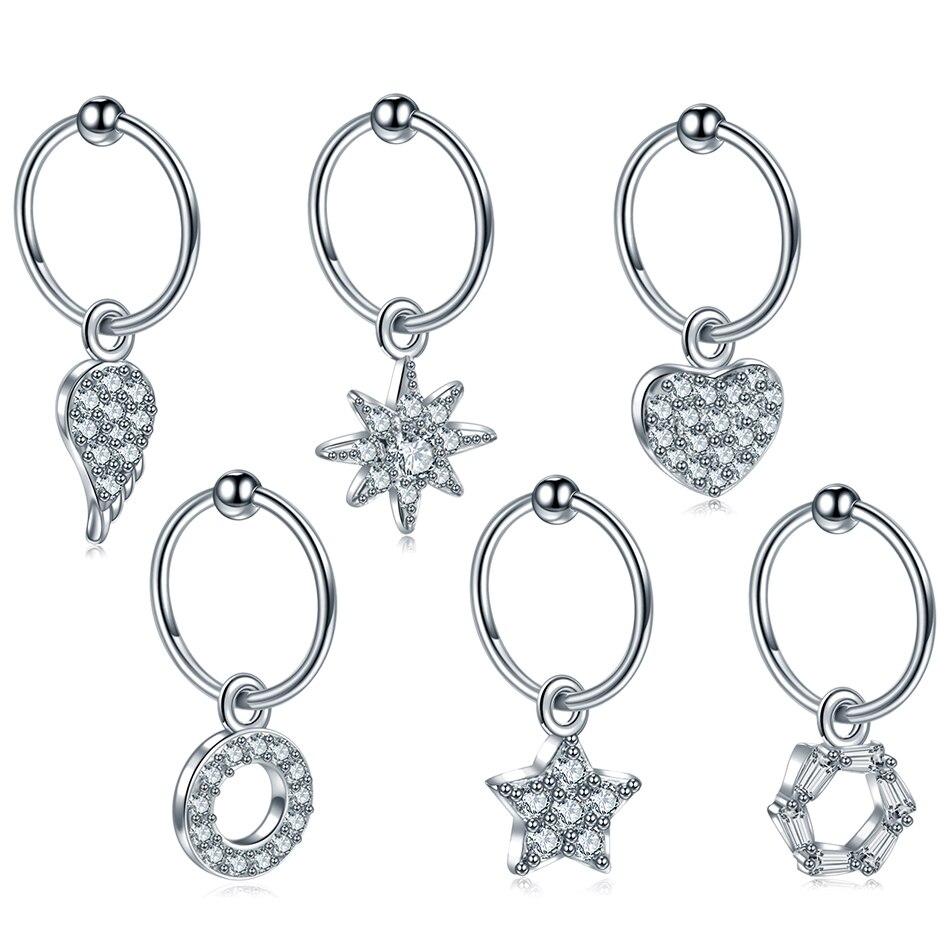 1pc New Steel Earrings Helix Piercing Tragus Piercing Earring