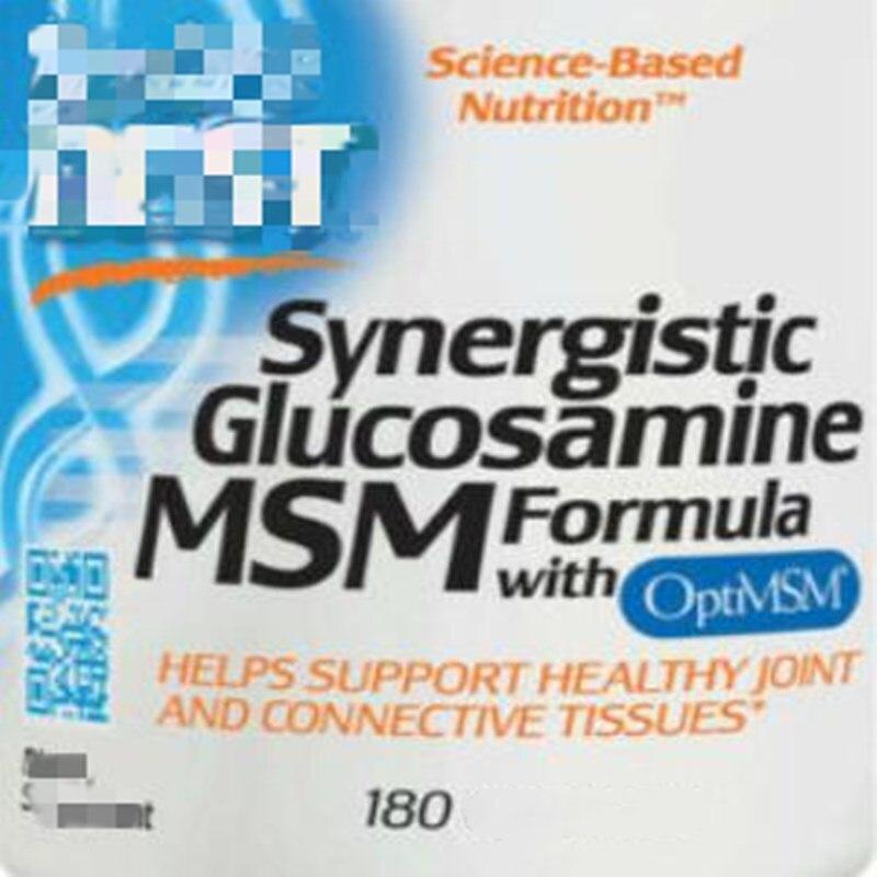 Glucosamine, Synergistic, MSM Formula, 180pcs