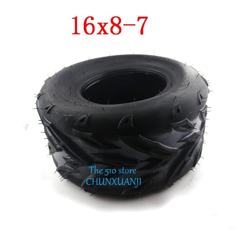16x8-7 16x8.00-7 RIGHT 3-Bolt Tire Rim Wheel Assy Taotao 110cc 125cc ATV Quad