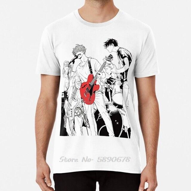 Given T Shirt Anime Sleeve Yaoi Bl Given Given Yaoi Given Anime Given Manga Music Mafuyu Tshirt Men Cotton Tees Tops Harajuku