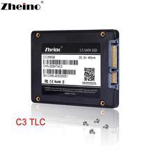 """Zheino 2,"""" SATAIII SSD 60 ГБ 120 ГБ 128 ГБ 240 ГБ 256 ГБ 480 ГБ 512 ГБ Внутренний твердотельный жесткий диск для ноутбука ПК настольный"""