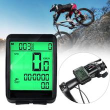 Waterproof Bicycle Computer Wireless And Wired MTB Bike Cycling Odometer Stopwatch Speedometer Watch LED Digital Rate bicycle wireless cycling odometer bicycle computer road mtb bike race watch speed cadence heart rate sensor power meter ble lamp