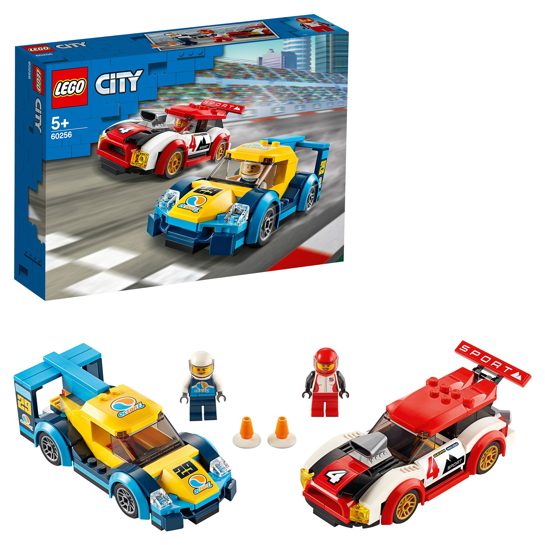 Designer Lego City Nitro Wheels 60256 Racing Cars