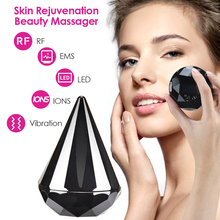 LED Photon Therapy RF EMS Beauty Device Radiofrequency Skin Rejuvenation Vibration Wrinkle Remover Anti Aging Face Lifting