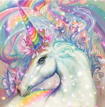 Diy 5D Diamond Painting Full Animal DIY Mosaic Sales Round Cute unicorn Embroidery Set Needlework Kits