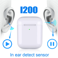 Original i200 TWS Air2 Earphone Wireless Bluetooth Headset Sports Headphones Stereo Earbuds for all mobile devices