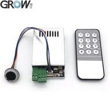 GROW K216 + R502 A mały cienki okrągły pierścień LED pojemnościowy kontrola dostępu za pomocą odcisków palców