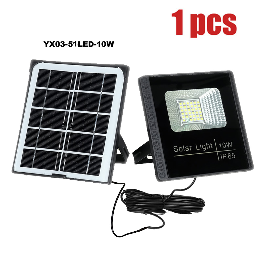 LED garden Solar Light wall lamps Security garage yard indoor home street deck fence solar lamp split panel floodlight reflector