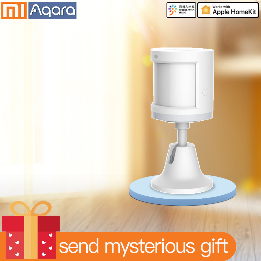 Aqara Movement Sensor Human Body Motion Sensor PIR Sensor For Xiaomi Home Kits Zigbee WIFI Mi Home Mijia App Xiaomi Smart Home