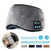 Auriculares inalámbricos 3D con Bluetooth v5.0, mascarilla transpirable para dormir con música, máscara para los ojos, 100%, bloqueador