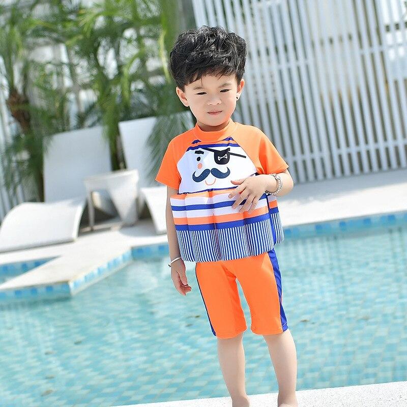 CHILDREN'S Buoyancy Swimsuit GIRL'S Girls Infant Bubble Hot Spring Tour Bathing Suit Baby CHILDREN'S BOY'S One-piece Floating Ba