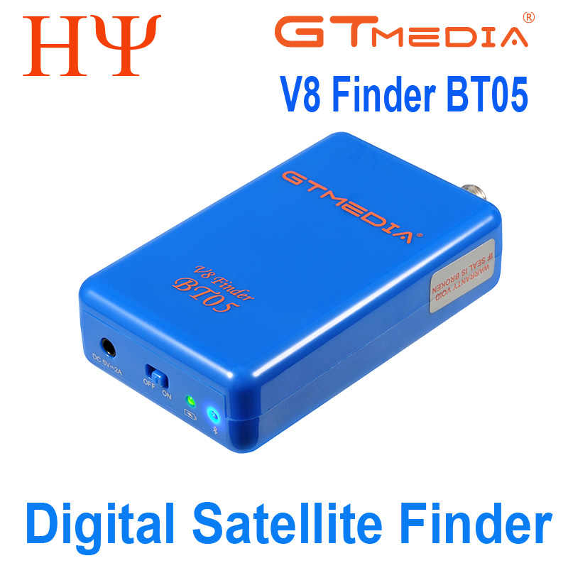 GTMEDIA V8 BT05 Finder Finder Satelit Lebih Baik Satlink Ws-6933 6906 6916 Freesat Bt01 Bt03 Upgrad HD1080P BT03