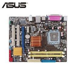 Płyta główna LGA 775 ASUS P5QPL AM dla Intel G41 DDR2 P5QPL AM płyta główna komputera stacjonarnego uATX USB2.0 PCI E X16 płyta systemowa używana w Płyty główne od Komputer i biuro na