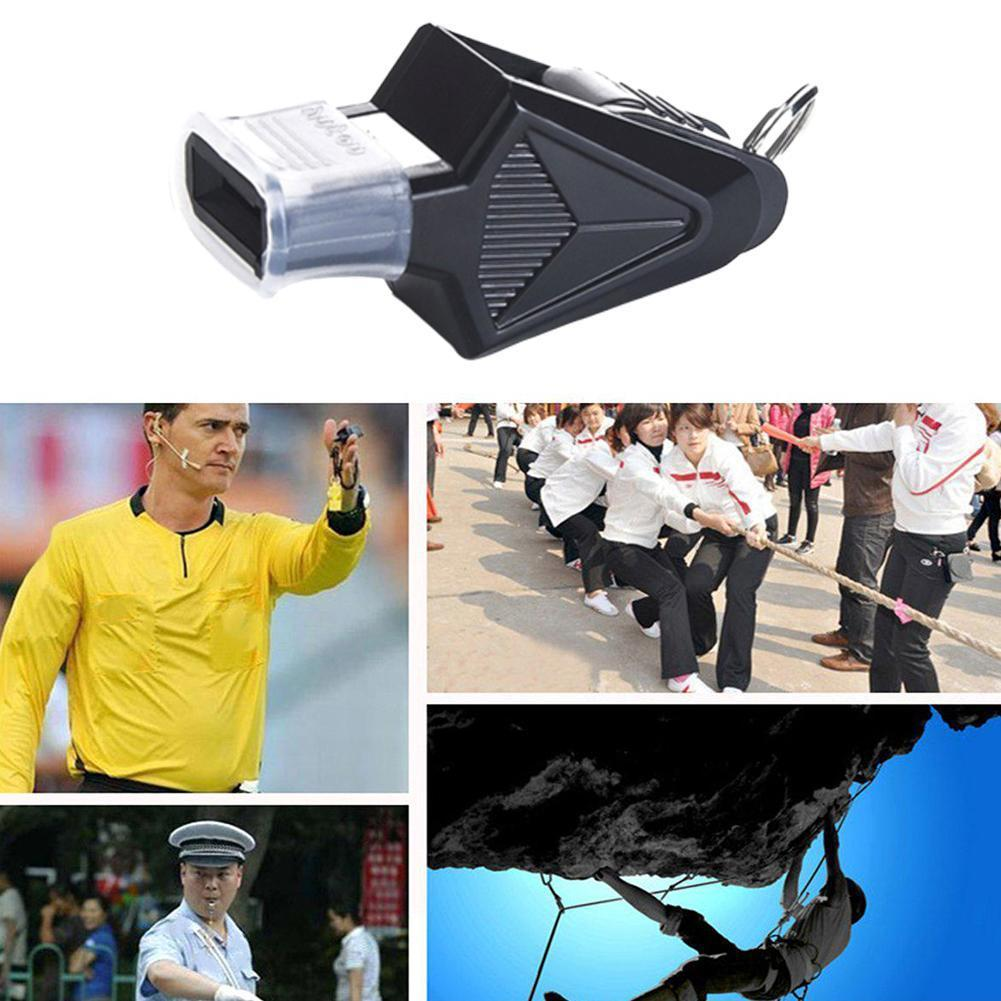 Portable Outdoor Sports Training Whistle With Rope Match Whistle Whistle Survival Emergency Professional Sports Referee Out F8N8