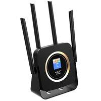 4G LTE Router Porta Lan Wireless CPE Built-in 3000MAh Batteria 300Mbps Ad Alta Velocità Mobile di Wifi hotspot Spina di UE