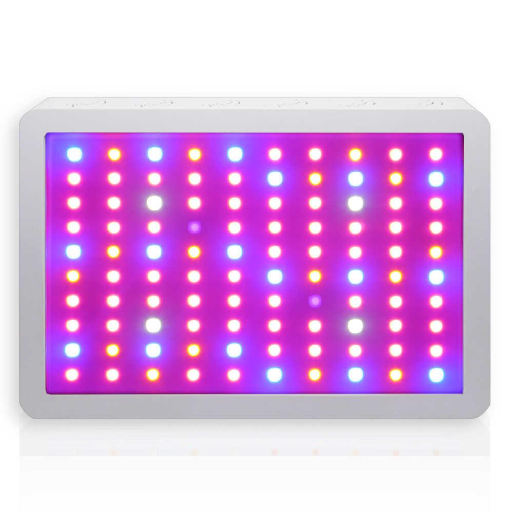 1000W Full Spectrum Lampu Panel LED Grow Light Suplemen AC85 ~ 265V Rumah Kaca Hortikultura Tumbuh Lampu untuk Indoor tanaman Berbunga