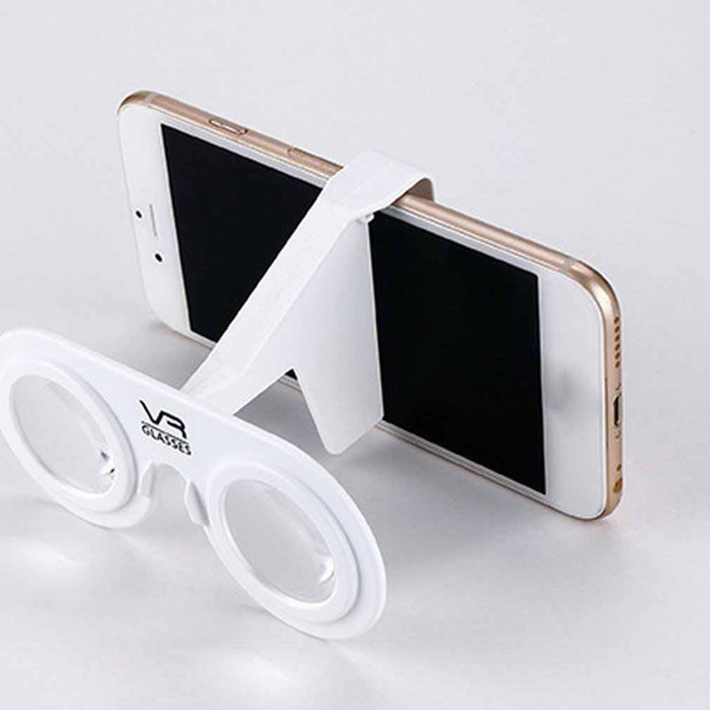 VR نظارات طوي البسيطة حملق مع HD عدسة متوافق مع الروبوت و iOS الهواتف الذكية خلال 3.5 إلى 6 بوصة