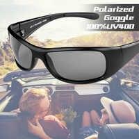 POLARSNOW 2020 Neue Mode Sport Sonnenbrille Männer Polarisierte UV400 Beschichtung Gespiegelt Fahren Angeln Sonnenbrille Oculos PS8604