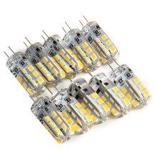 10 pçs mini g4 led cob lâmpada led 3w 6 9 12 dc ac 12v led g4 luz 360 ângulo de feixe lustre luz substituir halogênio g4 lâmpadas