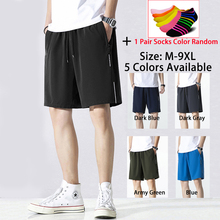 Summer Men's Women's Shorts For Cycling Running Sports Beach Quick-Drying Breathable Fashion Casual Pants Big Size M-9XL