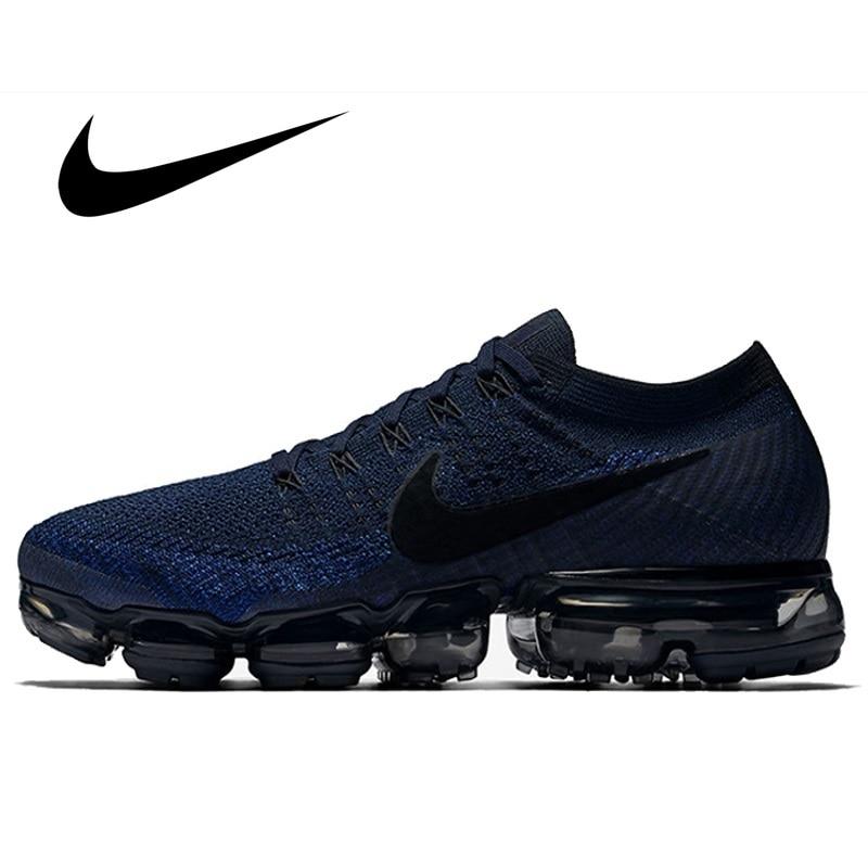 Original Nike Air VaporMax Flyknit Men's Running Shoes Sport Outdoor Mesh Breathable Sneakers Athletic Designer Footwear 849558