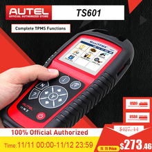 AUTEL MaxiTPMS TS601 Diagnostic Tool Car TPMS Tool OBD2 Scanner Automotive Tool Activate Tire Sensor TPMS programmer Code Reader
