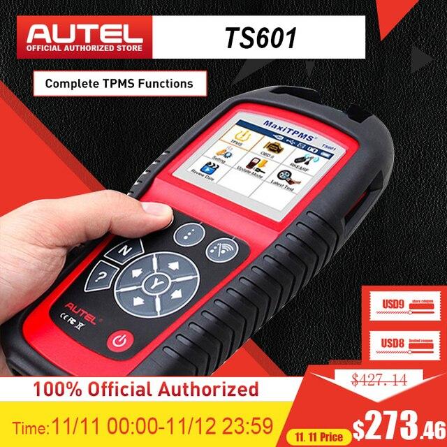 Autel maxitpms TS601診断ツール車tpmsツールOBD2スキャナ自動車ツールアクティブタイヤセンサーtpmsキープログラマーコードリーダー