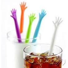 5 stücke Cocktail Swizzle Sticks Wein Trinken Rührer Kaffee Mischen Sticks Hand Geformt Kunststoff Bar Werkzeuge Nacht-club Zubehör