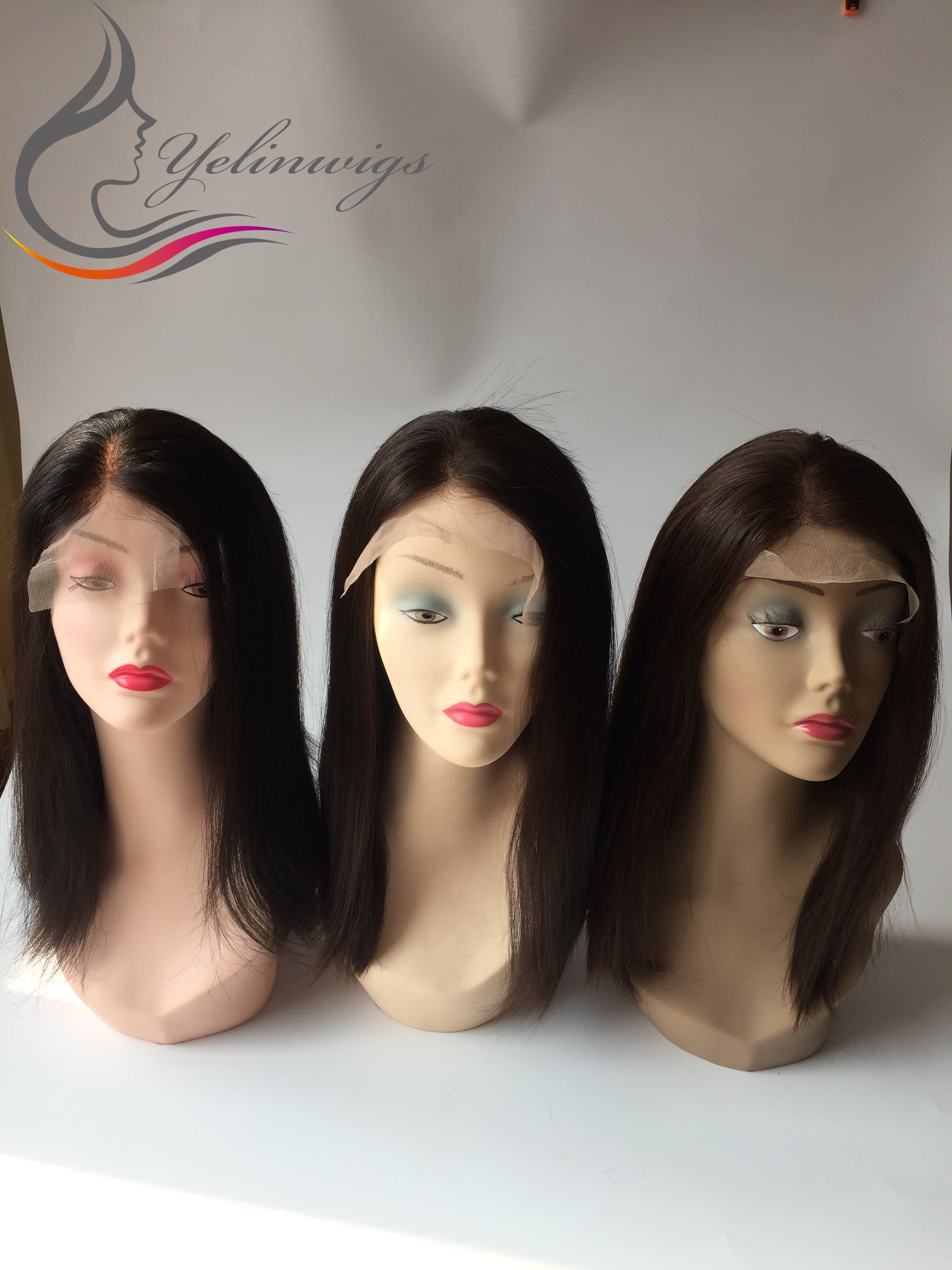 New 100% Jewish Hair Lace Top Wigs Good Quality European Hair Jewish Kosher Wig Sheitels