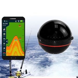 New Wireless Sonar Sensor Fish Finder Portable Smart Transducer Detector Fish Finder Bluetooth Echo Sounder Fish Finders Fishing