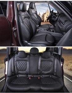 Image 3 - Housses de siège de voiture pour BMW MINI Cooper S One F57 en gros étanche en cuir Auto siège protecteur accessoires intérieurs de voiture