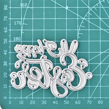 GJCrafts Letter Ies Happy Easter Metal Cutting Dies New 2019 Craft Scrapbooking Embossing Stencil Die Cutcard Making Decor