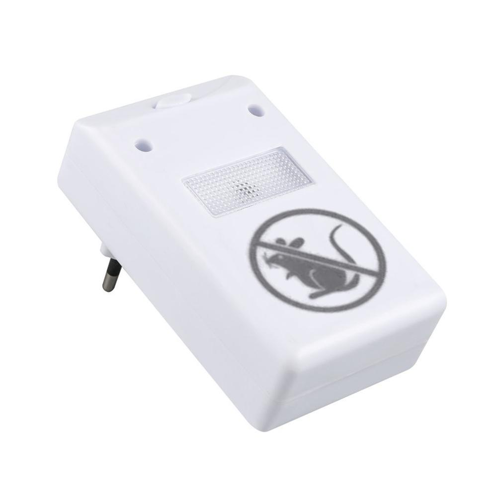 Enhanced Version Electronic Ultrasonic Anti Mosquito Insect Repeller Rat Mouse Cockroach Pest Reject Repellent EU Plug Hot Sale