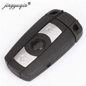 Image 3 - Jingyuqin 자동차 원격 스마트 키 315Mhz /433/ 868MHz BMW 1/3/5/7 시리즈 CAS3 X5 X6 Z4 자동차 열쇠가없는 제어 송신기 칩