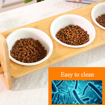 1/2/3 Ceramic Dish Bowl Wooden Table  2